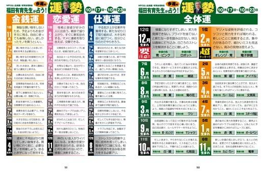 今週の運勢/10月17日〜10月23日