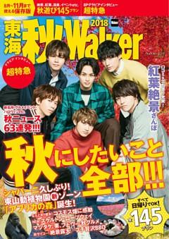 【特典】東海 秋Walker2018 表紙