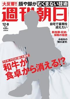 週刊朝日 12月8日号