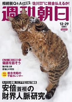 週刊朝日 12月29日号