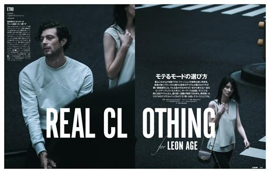 連載「モテるモードの選び方」 REAL CLOTHING for LEON AGE