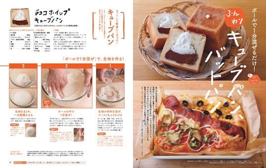 ふんわりキューブパン、バットパン