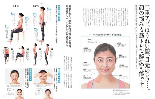 二重アゴ、ほうれい線、目元のシワ…。顔の悩みも筋トレで解決可能です。