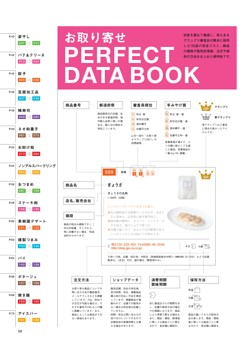 BOOK IN BOOK お取り寄せ PERFECT DATA BOOK