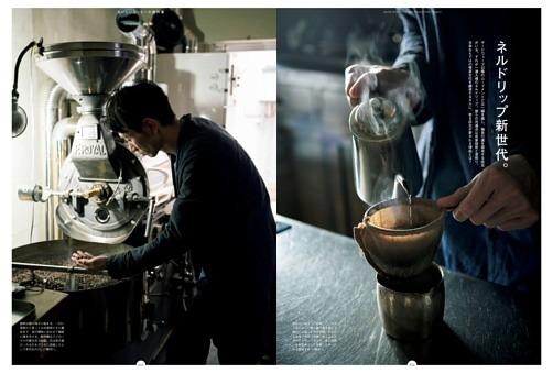 ネルドリップ新世代。蕪木、長月、ぐすたふ珈琲