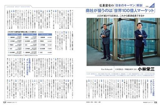 弘兼憲史の「日本のキーマン」解剖