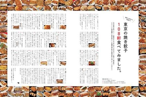 東京の焼き餃子108軒食べてみました。