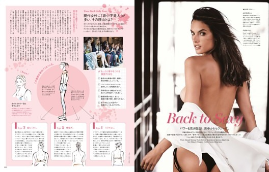 FEATURES Back to Sexy パワー&若さ復活! 背中からセクシーに。