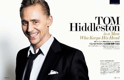 GQ COVER STORY  Tom Hiddleston  トム・ヒドルストンは沈着冷静である