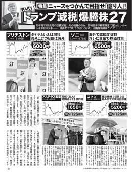 目指せ「億り人」(1)「トランプ減税」爆騰株27