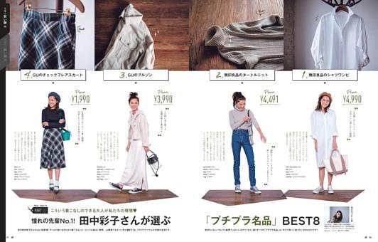 田中彩子さんが選ぶ「プチプラ名品」BEST8