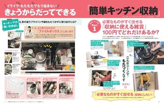 「簡単キッチン収納」Part1 「収納に使える雑貨」100円でどれだけあるか?