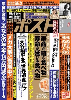 週刊ポスト 2016年11月4日号