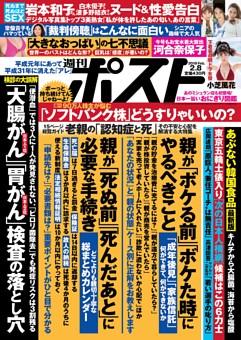 週刊ポスト 2019年2月8日号