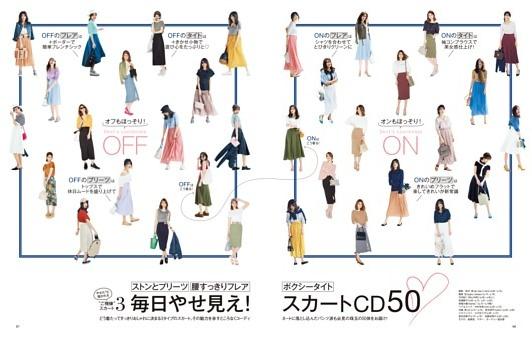 毎日やせ見え! スカートCD50
