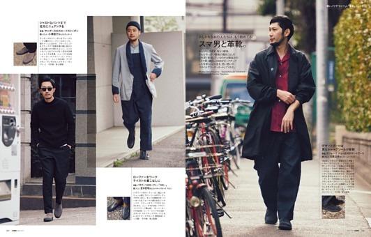 軽いノリで「シャツ」と「革靴」 Part_3 スマ男と革靴。