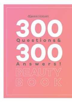特別付録/300 Questions & 300 Answers! BEAUTY BOOK