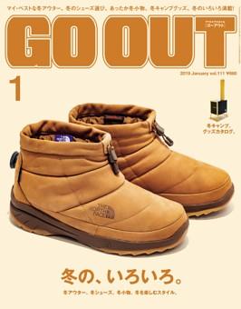 GO OUT 2019年1月号 Vol.111