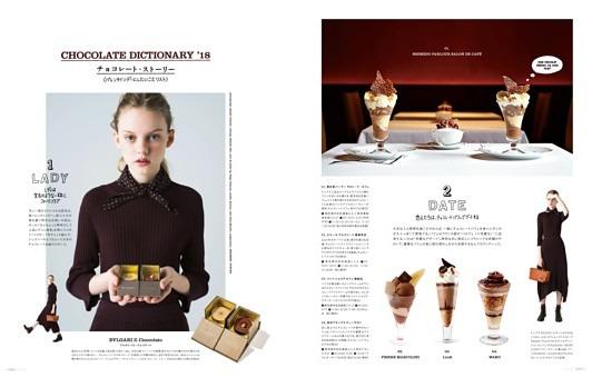 CHOCOLATE DICTIONARY '18 チョコレート物語