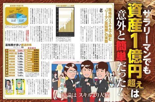 サラリーマンでも資産1億円超えは意外と簡単だった!