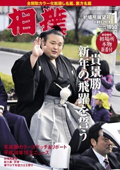 相撲 2019年1月 初場所展望号