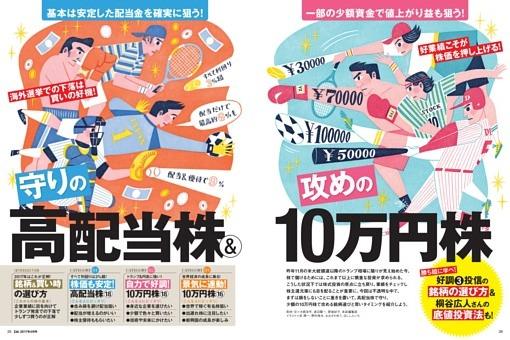 【特集】 守りの高配当株&攻めの10万円株