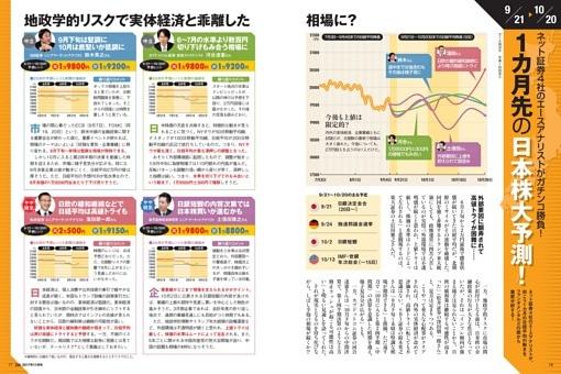 1カ月先の日本株大予測!