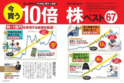 【特集】 今買う10倍株 ベスト 67