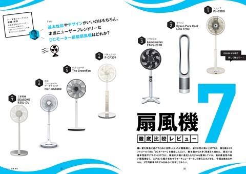 【徹底比較】人気「扇風機」7モデル、どれが買い?