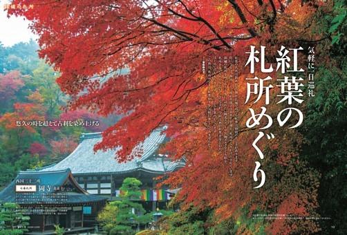 【第1特集】気軽に一日巡礼 紅葉の札所めぐり